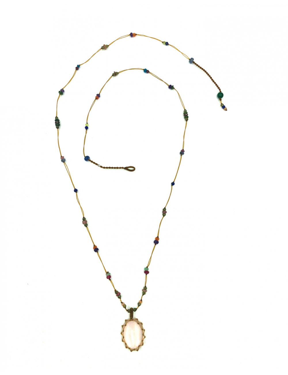 Sharing Katia Samson Long Tibetan Necklace