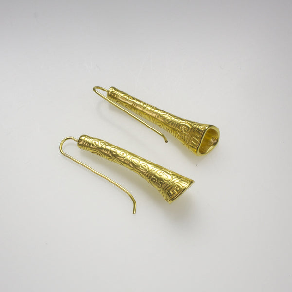 Calima Flute Earrings