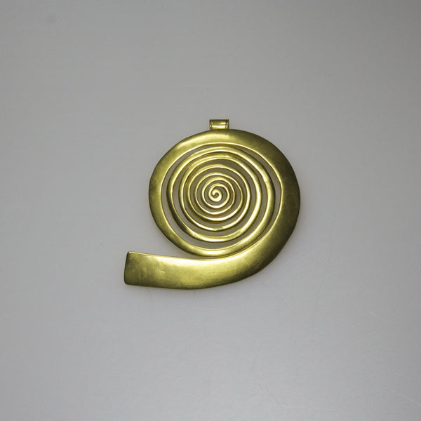 Great Spiral Pendant