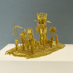 24K Gold Plated Replica: the Musica Raft