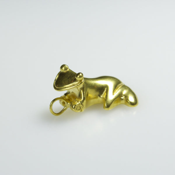 """Fertililty"" Frog Pendant"