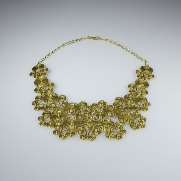 Mompox Spirals Necklace