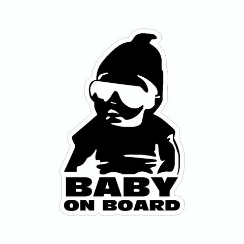 Baby On Board Vinyl Car Decal