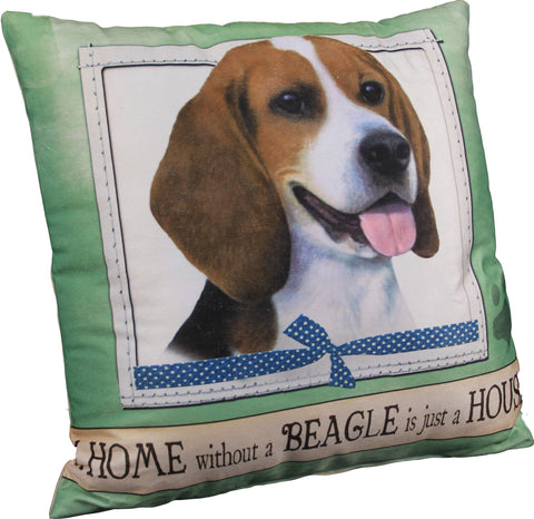 Beagle Dog Breed Throw Pillow