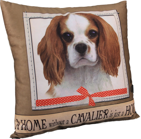 Cavalier King Charles Spaniel Dog Breed Throw Pillow