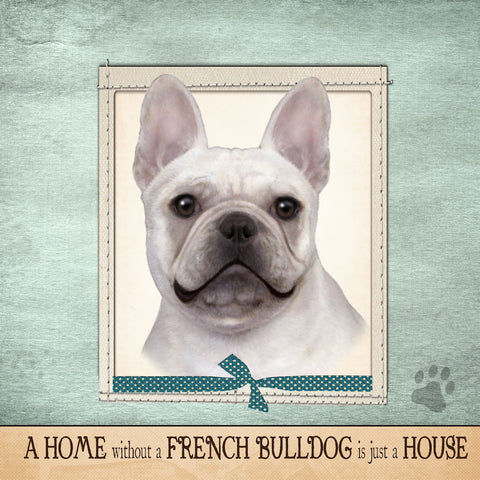 French Bulldog Frenchie Dog Breed Throw Pillow