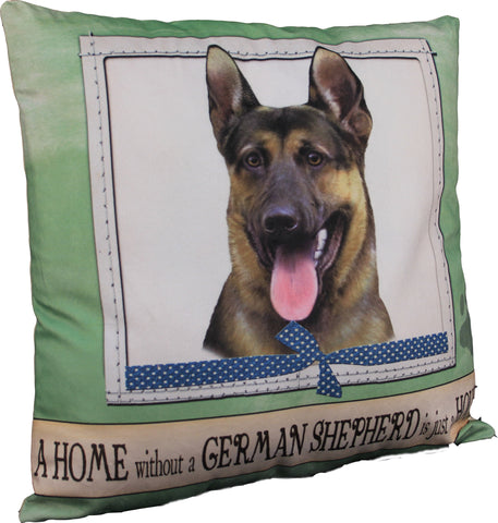 German Shepherd Dog Breed Throw Pillow