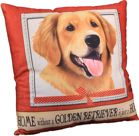 Golden Retriever Dog Breed Throw Pillow
