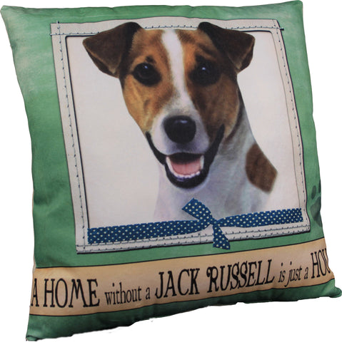 Jack Russell Terrier Dog Breed Throw Pillow