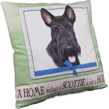 Scottish Terrier Dog Breed Throw Pillow