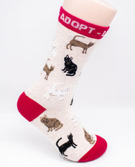 Adopt Rescue Assorted Novelty Socks