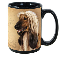 Faithful Friends Afghan Hound Dog Breed Coffee Mug