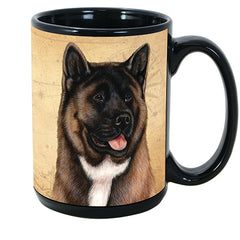 Faithful Friends Akita Dog Breed Coffee Mug