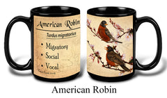 American Robin Bird Faithful Friends Coffee Mug