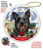Australian Cattle Dog Howliday Dog Christmas Ornament