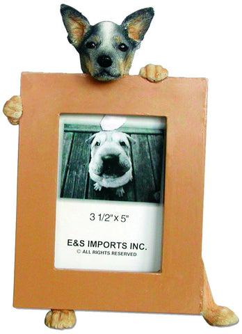 Australian Cattle Dog Picture Frame Holder