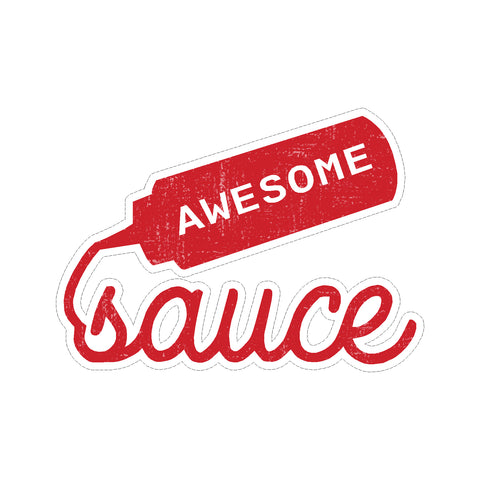 Awesome Sauce Vinyl Car Decal