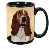 Faithful Friends Basset Hound Dog Breed Coffee Mug