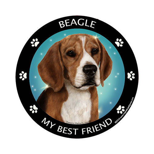 Beagle My Best Friend Dog Breed Magnet