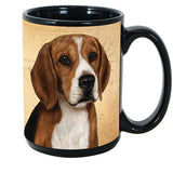 Faithful Friends Beagle Dog Breed Coffee Mug