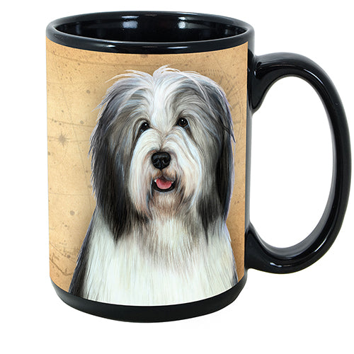 Faithful Friends Bearded Collie Dog Breed Coffee Mug