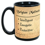 Faithful Friends Belgian Malinois Dog Breed Coffee Mug