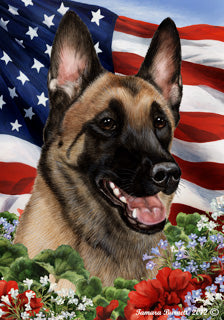 Belgian Malinois Best In Breed Flag