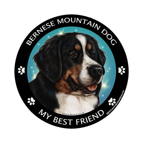 Bernese Mountain Dog My Best Friend Dog Breed Magnet
