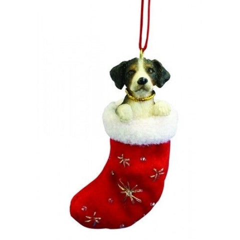 Santa's Little Pals Bernese Mountain Dog Christmas Ornament