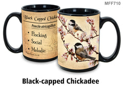 Black Capped Chickadee Bird Faithful Friends Coffee Mug