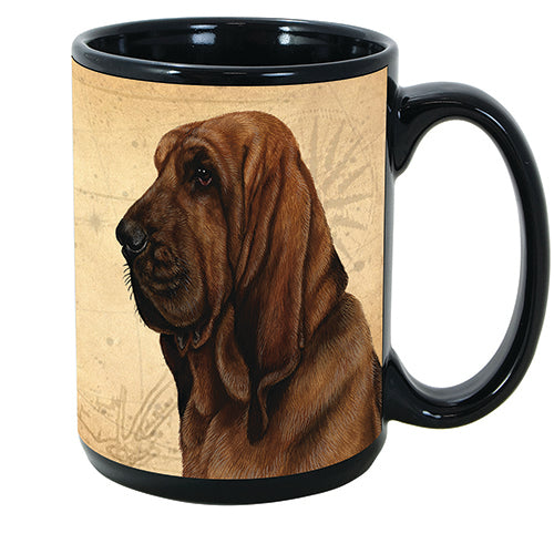 Faithful Friends Bloodhound Dog Breed Coffee Mug