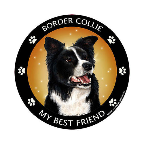 Border Collie My Best Friend Dog Breed Magnet