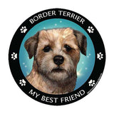 Border Terrier My Best Friend Dog Breed Magnet