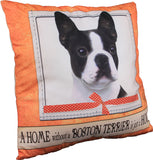 Boston Terrier Dog Breed Throw Pillow