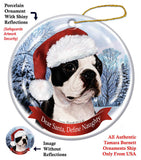 Boston Terrier Howliday Dog Christmas Ornament
