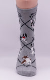 Boston Terrier Dog Breed Novelty Socks