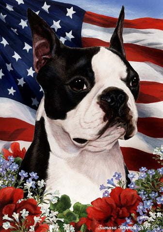 Boston Terrier Best In Breed Flag
