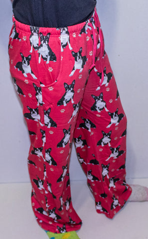 Boston Terrier Unisex Pajama Pants