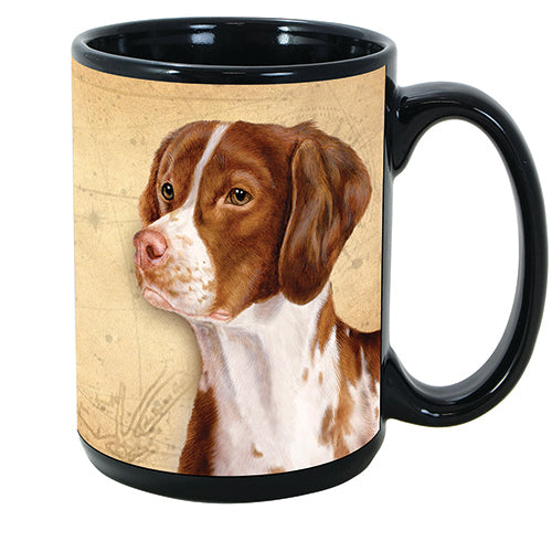 Faithful Friends Brittany Dog Breed Coffee Mug