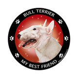 Bull Terrier My Best Friend Dog Breed Magnet