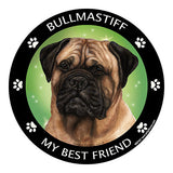Bullmastiff My Best Friend Dog Breed Magnet