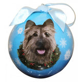 Cairn Terrier Shatterproof Dog Breed Christmas Ornament