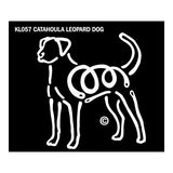 K Lines Catahoula Leopard Dog Car Window Decal Tattoo