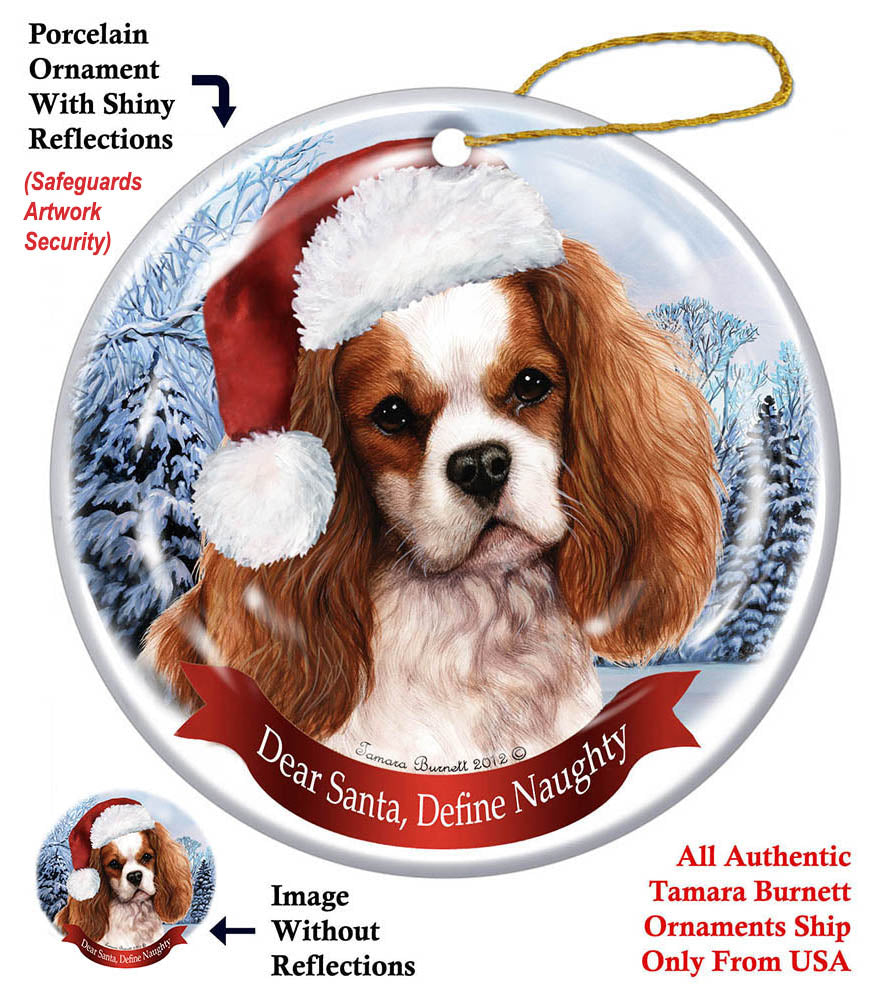 Cavalier King Charles Spaniel Howliday Dog Christmas ...