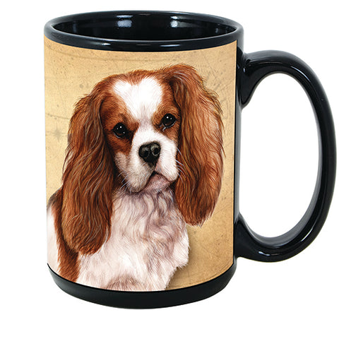 Faithful Friends Cavalier King Charles Spaniel Dog Breed Coffee Mug