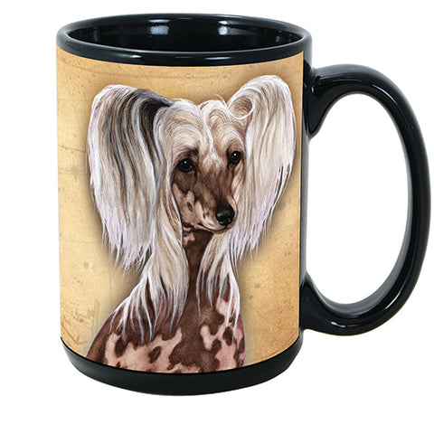 Faithful Friends Chinese Crested Dog Breed Coffee Mug