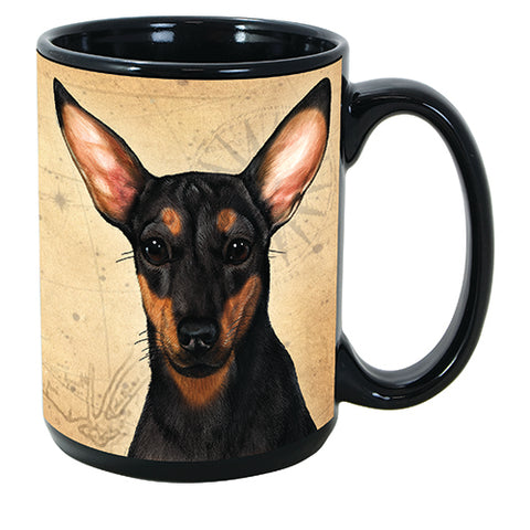 Faithful Friends Chiweenie Black Dog Breed Coffee Mug
