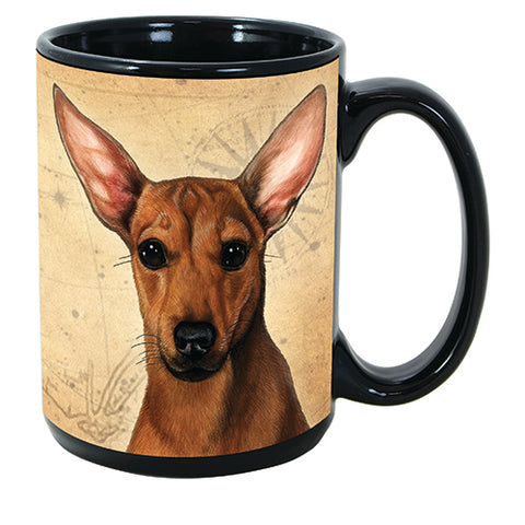 Faithful Friends Chiweenie Red Dog Breed Coffee Mug