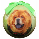 Chow Chow Shatterproof Dog Breed Christmas Ornament
