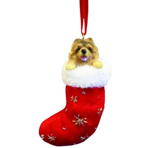 Santa's Little Pals Chow Chow Christmas Ornament